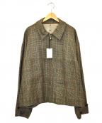 stein(シュタイン)の古着「オーバースリーブドリズラージャケット」|ベージュ