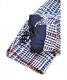 中古・古着 TAGLIATORE (タリアトーレ) シルクブレンドツイードジャケット ブルー×ホワイト サイズ:46 1SVS22K:19800円