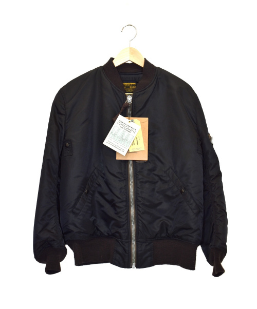 BUZZ RICKSON'S(バズリクソンズ)BUZZ RICKSON'S (バズリクソンズ) MA-1ジャケット ブラック サイズ:38 BR11180の古着・服飾アイテム