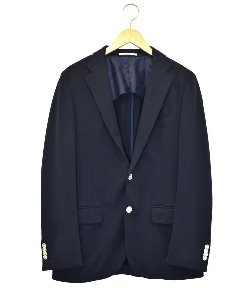 MACKINTOSH PHILOSOPHY(マッキントッシュフィロソフィー)MACKINTOSH PHILOSOPHY (マッキントッシュフィロソフィー) トロッタージャケット ネイビー サイズ:40 TROTTER H1E28-161-27の古着・服飾アイテム
