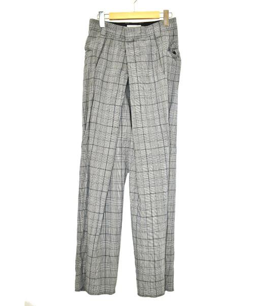 NEON SIGN(ネオンサイン)NEON SIGN (ネオンサイン) チカーノスラックス ネイビー サイズ:44 0816の古着・服飾アイテム