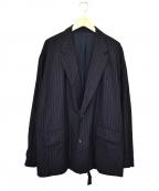 Ujoh(ウジョー)の古着「ボックスジャケット」|ネイビー