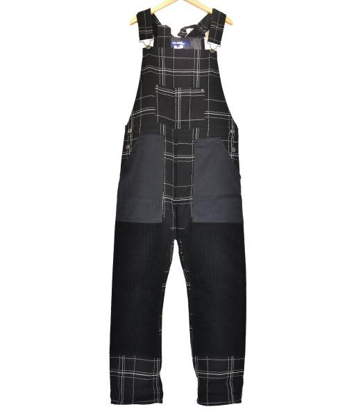 CDG JUNYA WATANABE MAN(コムデギャルソンジュンヤワタナベ)CDG JUNYA WATANABE MAN (コムデギャルソンジュンヤワタナベ) サロペット ブラック サイズ:XS WJ-P031 AD2012の古着・服飾アイテム