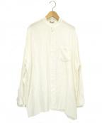 ARTS&SCIENCE(アーツアンドサイエンス)の古着「ワイドリネンシャツ」|ホワイト