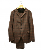 NEMETH(ネメス)の古着「セットアップジャケット」|ブラウン