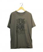 NEIGHBORHOOD()の古着「プリントTシャツ」|グレー
