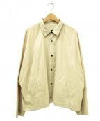 My Beautiful Landlet(マイビューティフルランドレット)の古着「シャツジャケット」|ベージュ