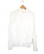 OUR LEGACY(アワーレガシー)の古着「テクスチャードシャツ」 ホワイト