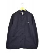 DANTON(ダントン)の古着「スタンドカラージャケット」|ネイビー