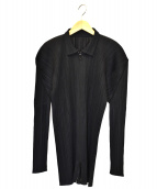 ()の古着「ジップアップジャケット」|ブラック