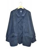 Porter Classic(ポータークラシック)の古着「エイジングジャケット」|ブルー