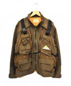 KELTY(ケルティ)の古着「フィッシングジャケット」|ブラウン