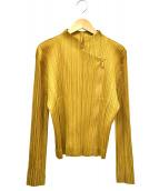 ()の古着「ジップジャケット」|イエロー