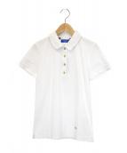 BLUE LABEL CRESTBRIDGE(ブルーレーベルクレストブリッジ)の古着「ポロシャツ」|ホワイト