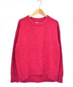 Coohem(コーヘン)の古着「クルーネックニット」|ピンク