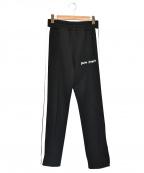 Palm Angels(パームエンジェルス)の古着「サイドラインスウェットパンツ」|ブラック