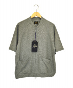 Needles(ニードルス)の古着「パイルS/Sシャツ」|グレー