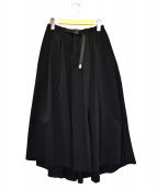 GRAMICCI × DICKIES(ディッキーズ × グラミチ)の古着「フレアボリュームスカート」|ブラック