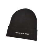 SUPREME × NIKE(シュプリーム × ナイキ)の古着「スネークスキンビーニー」|ブラック