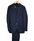 L.B.M.1911(ルビアム1911)の古着「ウール2Bセットアップスーツ」 ネイビー