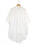 Y's(ワイズ)の古着「オーバーサイズシャツ」|ホワイト