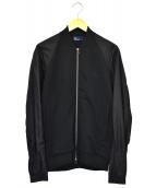 ()の古着「袖切替ブルゾン」|ブラック