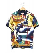 SUPREME(シュプリーム)の古着「総柄ポロシャツ」|マルチカラー
