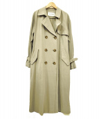 RAY BEAMS(レイ ビームス)の古着「BIGトレンチコート」|グレー