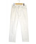 Maison Margiela(メゾンマルジェラ)の古着「STEREOTYPE 5 POCKET JEANS」|ホワイト