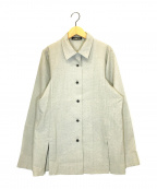 ISSEY MIYAKE PERMANENTE()の古着「スリットジャケット」|グレー