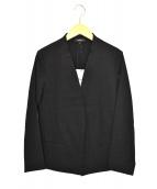 ()の古着「リネンブレンドストレッチジャケット」 ブラック