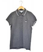 ()の古着「タイガー刺繍ポロシャツ」|グレー