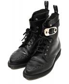 ()の古着「8ホールブーツ」 ブラック