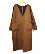 Ameri VINTAGE(アメリビンテージ)の古着「リバーシブルボンディングコート」|ブラウン