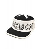 Supreme × PLAYBOY(シュプリーム × プレイボーイ)の古着「ピルボックス キャップ」|ホワイト