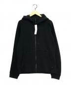 MAMMUT(マムート)の古着「フーデッドジャケット」 ブラック