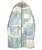 adidas by stella McCartney(アディダスバイステラマッカートニー)の古着「フーデッドコート」|ブルー