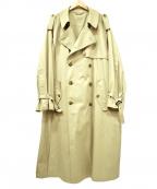 stein(シュタイン)の古着「DOUBLE SHADE TRENCH COAT」|ベージュ