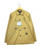 Columbia()の古着「ヒューソンパークロングスリーブシャツ」|ベージュ