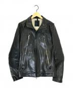 ripvanwinkle(リップヴァンウィンクル)の古着「ライダースジャケット」|ブラック