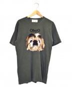 77circa(ナナナナサーカ)の古着「プリントTシャツ」 グレー