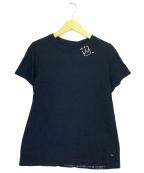 45R(フォーティファイブアール)の古着「クライン刺繍の45星カットソー」 インディゴ