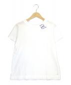 45R(フォーティファイブアール)の古着「クラウン刺繍の45星Tシャツ」 ホワイト