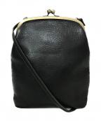 CLEDRAN(クレドラン)の古着「がま口バッグ」|ブラック