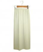 LEONARD()の古着「ギャザースカート」 グレー