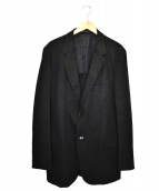 YohjiYamamoto pour homme(ヨウジヤマモトプールオム)の古着「テーラードジャケット」 ブラック