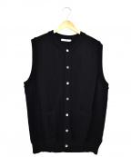 yashiki(ヤシキ)の古着「ニットベスト」|ブラック