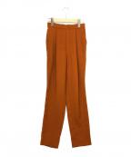ENFOLD()の古着「リネンライクゴムジョッパーズパンツ」|ブラウン