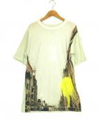 MM6 Maison Margiela(エムエムシックス メゾンマルジェラ)の古着「転写プリントTシャツ」 ベージュ