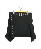 Salvatore Ferragamo()の古着「ベルト付スカート」 ブラック